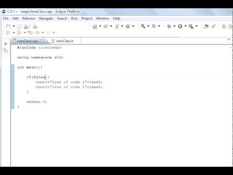 C++ Programming 6 If Statement and else use with conditional statements