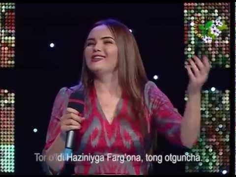 Gulsanam Mamazoitova - Farg'ona tong otguncha { jonli ijro }