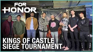 For Honor: Marching Fire Kings of Castle Siege Tournament | Livestream | Ubisoft [NA]