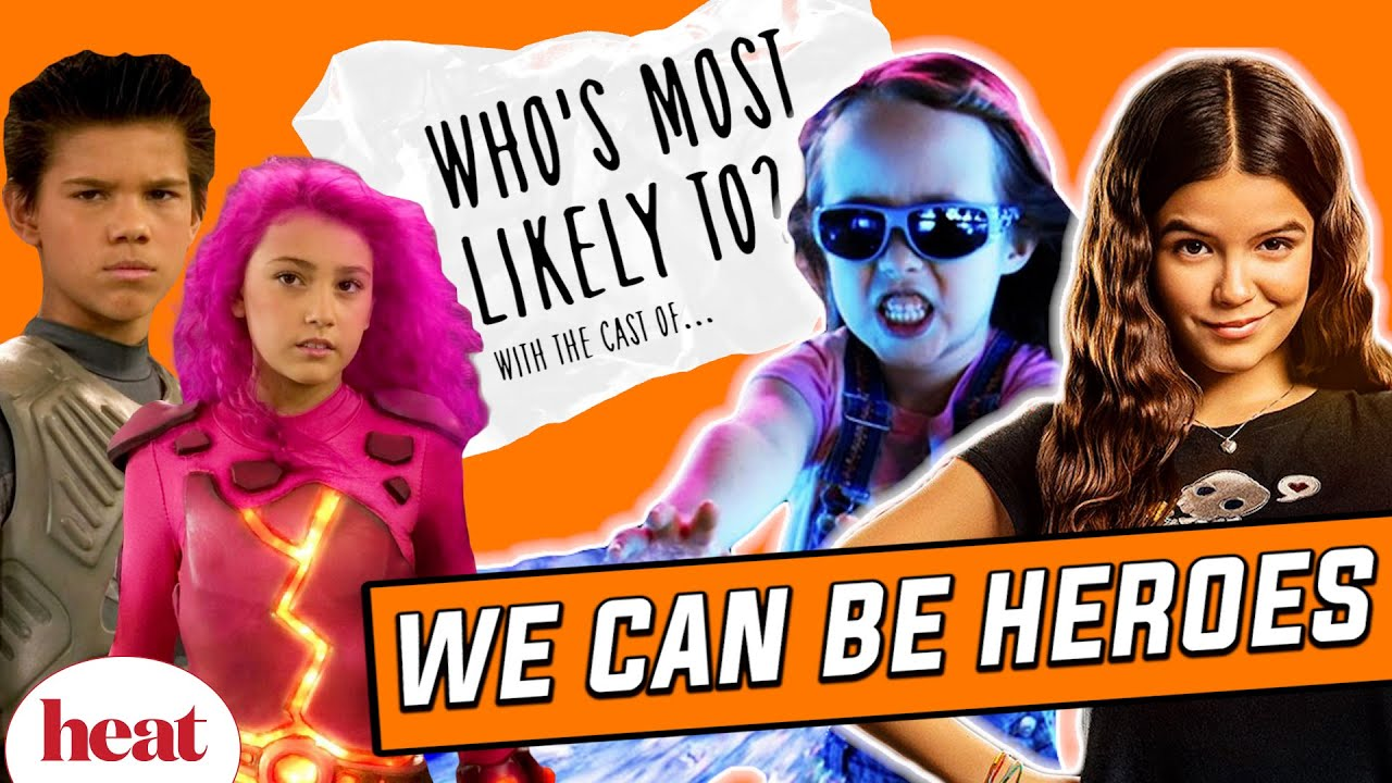 Download 'NEVER Dye Your Hair Pink': We Can Be Heroes Cast Play Who's Most Likely To?