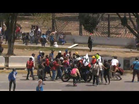 Venezuela : affrontements entre manifestants et police à Caracas | AFP Images