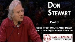 Solid Proof Of Life After Death | Don Stewart |  San Clemente Church Service