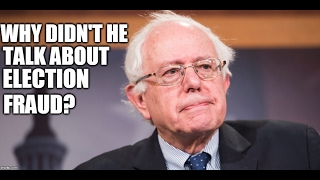 REVEALED: Bernie Staffer Explains Why Bernie Didn't Talk About Election Fraud!