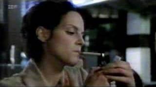 Marie Zielcke smokes