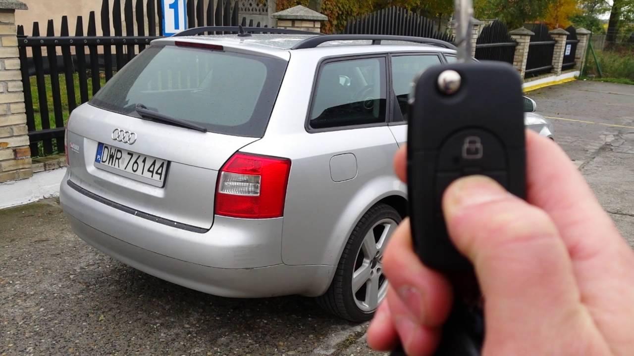 System Automatycznego Otwierania Klapy Bagaznika Audi A4 B6 Youtube