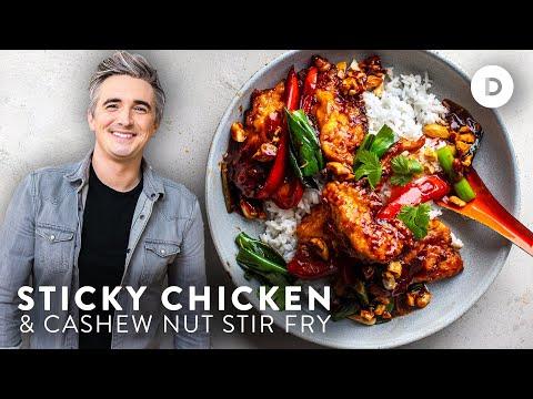 EASY Sticky Chicken