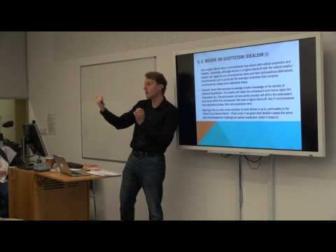 Duncan Pritchard: Wittgensteinian Epistemology and Epistemic Relativism