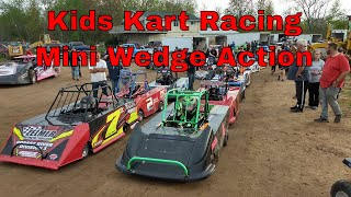 360 VR footage of Kids Kart Racing- Thunderbird Raceway 05-18-19 10-14 yr old mini wedge class