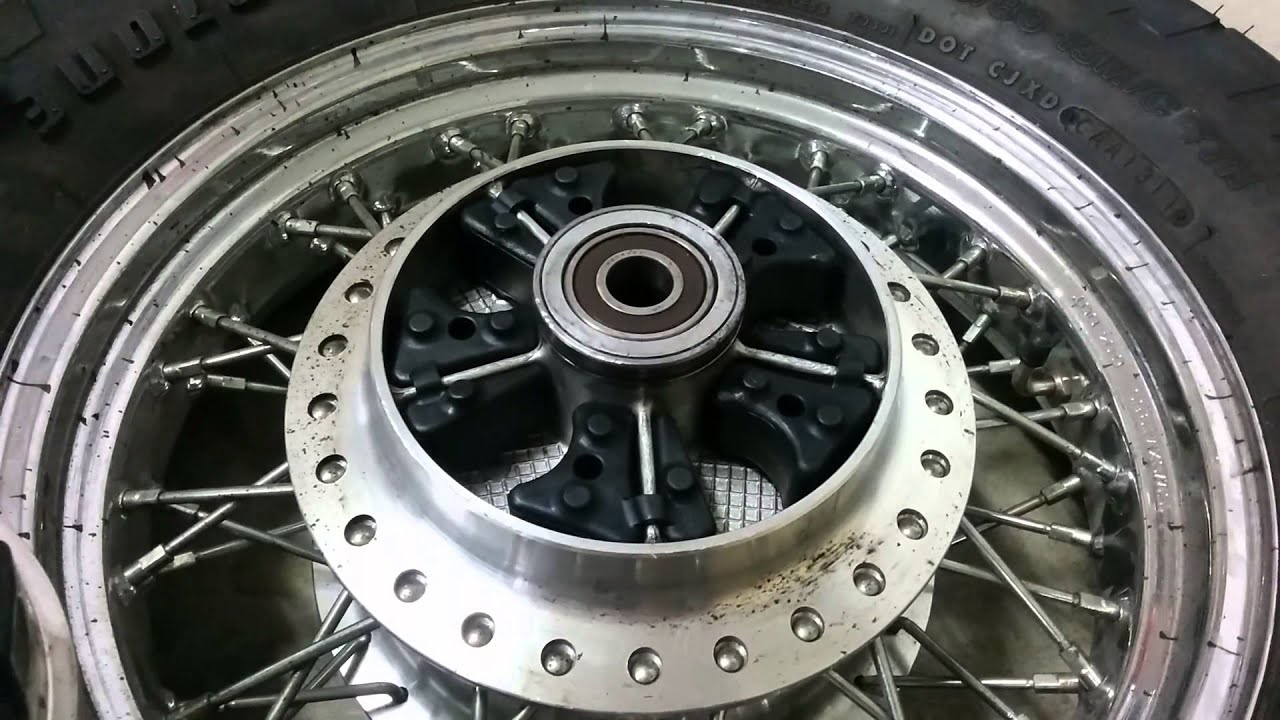 Motorcycle Rear Tire >> Installation of Rear Dampers on 05 Honda Shadow 750 - YouTube