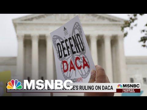 Federal Judge Declares DACA 'Unlawful'   MSNBC