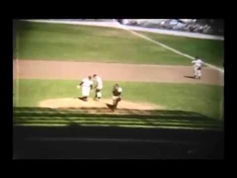 K C Athletics vs Yankees 1955