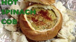Hot Spinach Cob Dip Cheekyricho