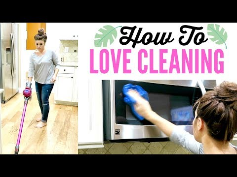 5 STEPS TO LOVE CLEANING | with SPEED CLEANING MOTIVATION | Love Meg