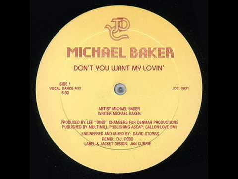 Michael Baker - Don't You Want My Lovin' (Special Version By Ricardo DJ)