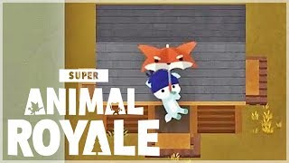 『Super Animal Royale 動物大逃殺』我有一把狐狸傘!