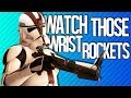 WATCH THOSE WRIST ROCKETS Star Wars Battlefront 2 Beta mp3