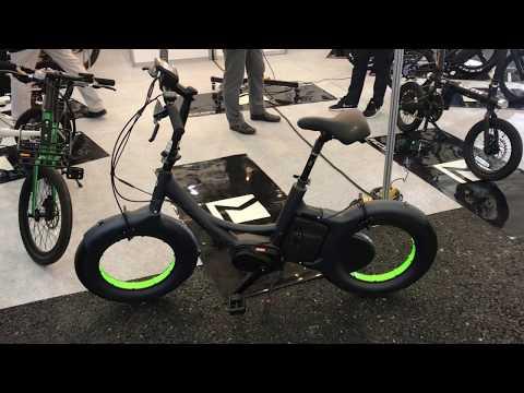 Электровелосипед из будущего.Колеса без спиц.Эко Колесо на выставке в Корее. Крутой  Велогибрид