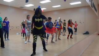 I'm in love with a Monster-Zumba Party