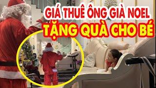 Dịch vụ thuê ông già Noel đến tặng quà cho các em nhỏ nở rộ dịp Noel, phí cao nhưng vẫn đắt hàng