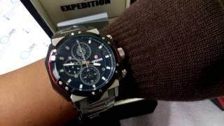 Jam Tangan Expedition Timepiece E 6385m Original Youtube