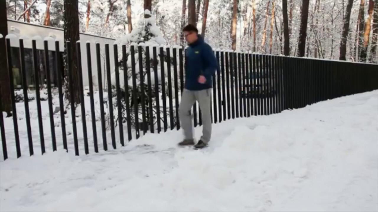 Fancy Fence Retractable Gate Mulholland Security Los