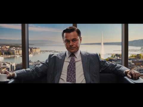 The Wolf of Wall Street - Swiss Bank scene