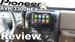 """Pioneer AVH 3300NEX In‑dash DVD Receiver Pioneer Single DIN - 7"""" Flip Up Display"""