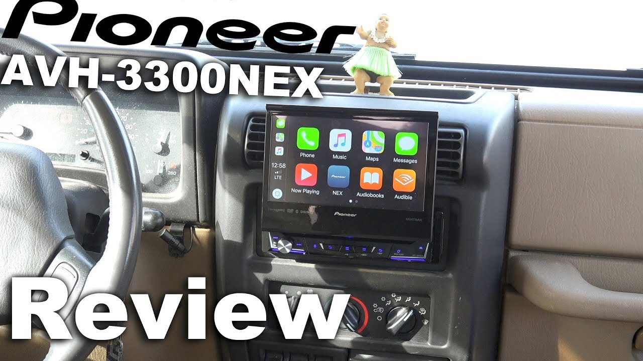 Pioneer Avh 3300nex In Dash Dvd Receiver Pioneer Single Din 7