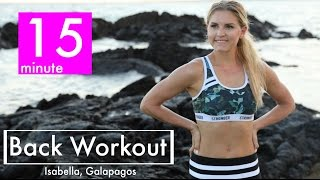 15-Minute Back Workout | Rebecca Louise