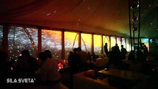 50 Years In Space – Panoramic Video Installation in Rooftop Club