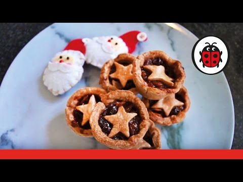 Let's Bake Chocolate Mince Pies | Cooking For Kids