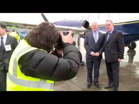 Direct air link reinstated between Scotland and IOM