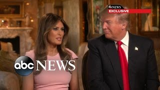 Melania Trump Opens Up on Presidential Race
