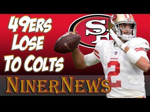 Colts beat 49ers 26-23 in OT - Hyde Struggles - NinerNews