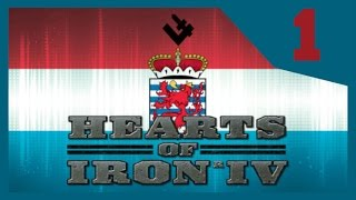 Hearts of Iron IV - Luxembourg Spec Ops #1 - No Army? [HOI4 Gameplay]