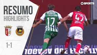 Highlights   Resumo: Sp. Braga 1-1 Rio Ave (Liga 18/19 #7)