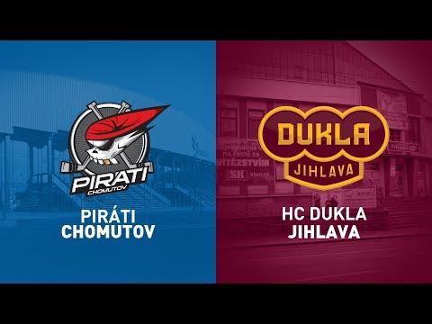 19.kolo O Pohár DHL: Piráti Chomutov Vs HC Dukla Jihlava