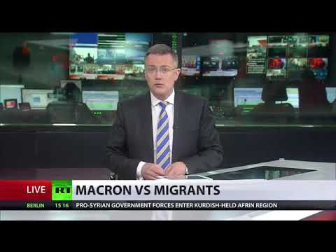 Macron vs Migrants: Protests in Paris after initiative to tighten laws on refugees