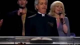 "Benny Hinn sings ""MY WONDERFUL LORD"""