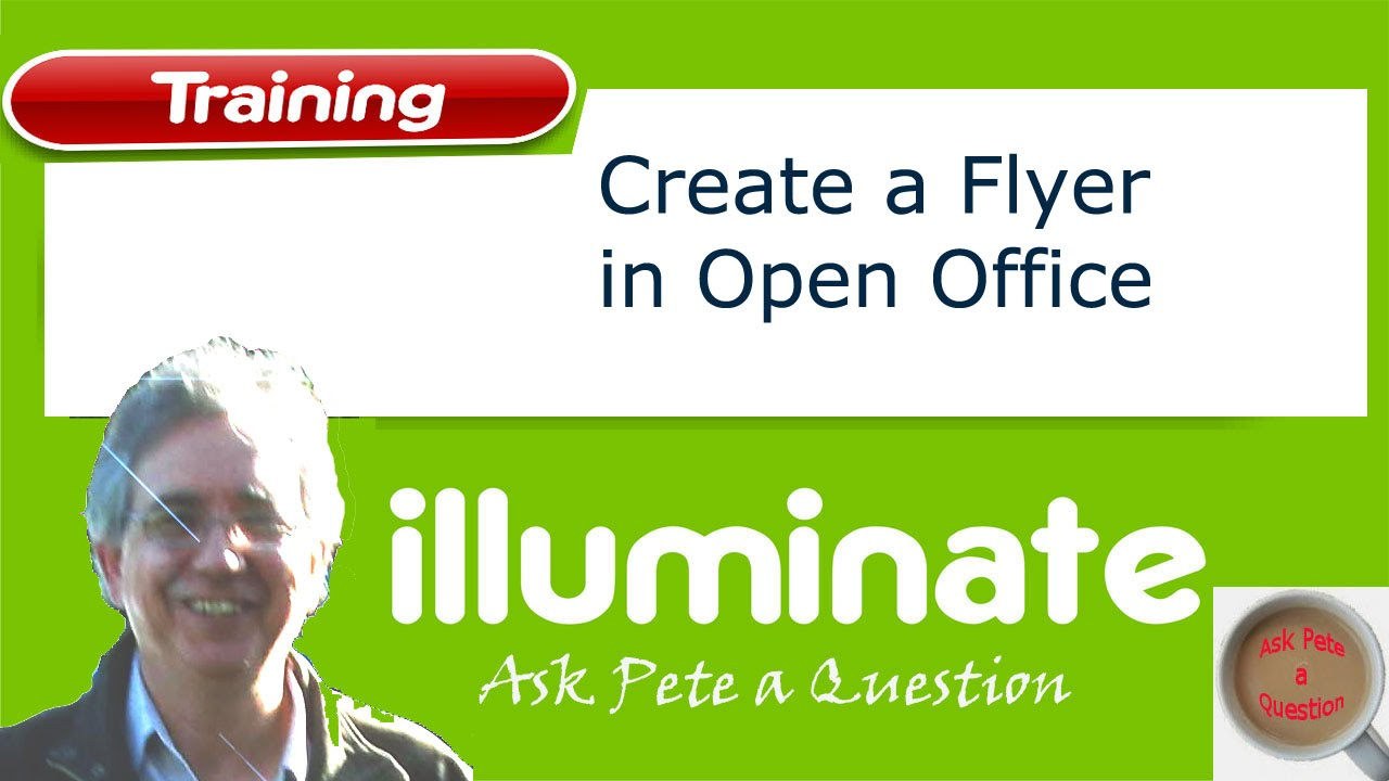 Create A Flyer Using Open Office YouTube - Brochure templates for openoffice