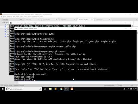 Php Mysql Tutorial - Login Register And Authentication In One Video Using Php In Bangla