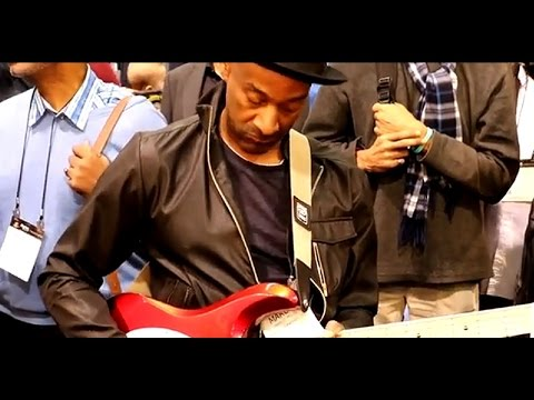 NAMM 2015 - MARCUS MILLER - Mark Bass