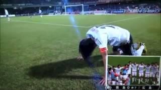 サッカーJ1最終節で横浜Fマリノスが川崎フロンターレに敗れて優勝を逃す...