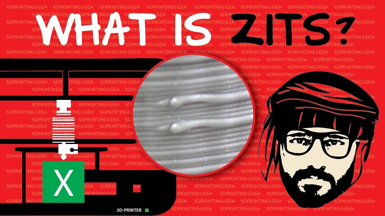 What is Zits/Blobs in 3D Printing