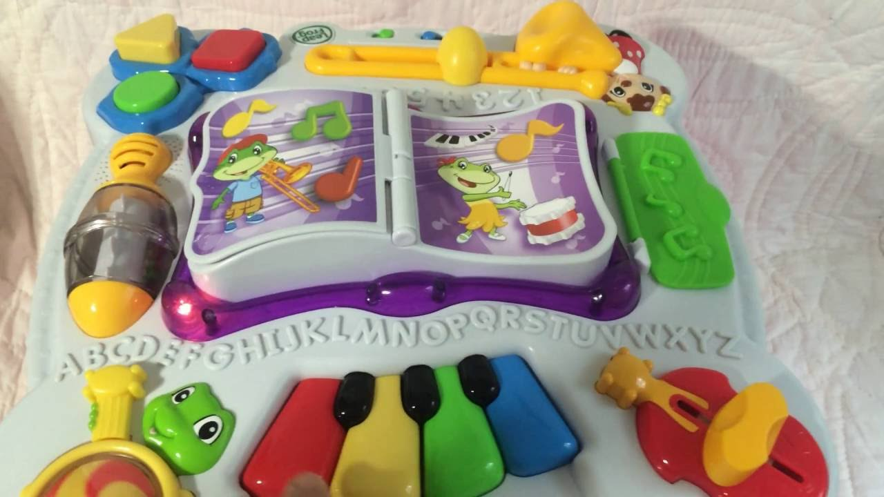 Leapfrog Learn And Groove Table Instructions