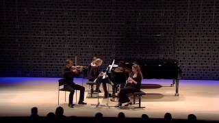 Aram Khachaturian: Trio for Clarinet, Violin and Piano - Part1