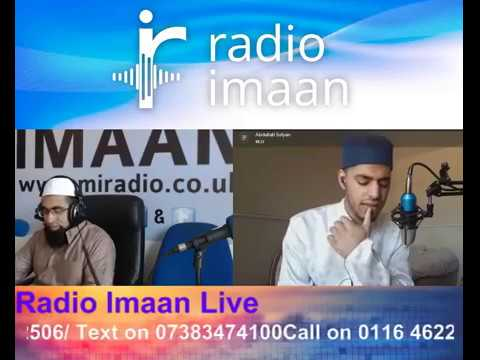 Talent show - Nasheeds by Abdullah sufyan on radio Imaan