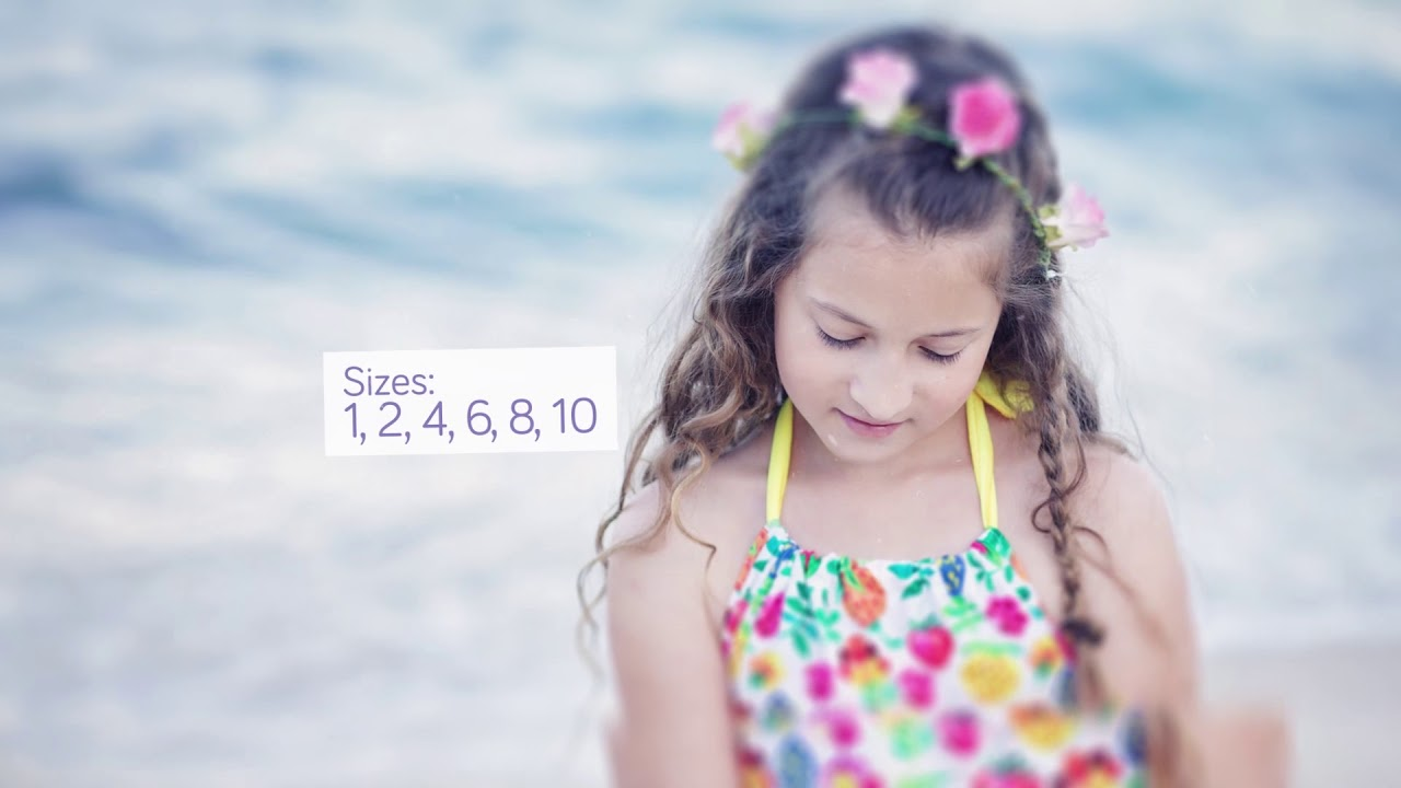 HeavenLee Kids Swimwear - Growth Suit #1