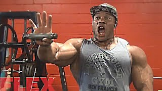 Phil Heath Trains Shoulders and Triceps At 270 Pounds