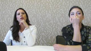 SDCC 2016: Man in the High Castle's Isa Dick Hackett and Alexa Davalos